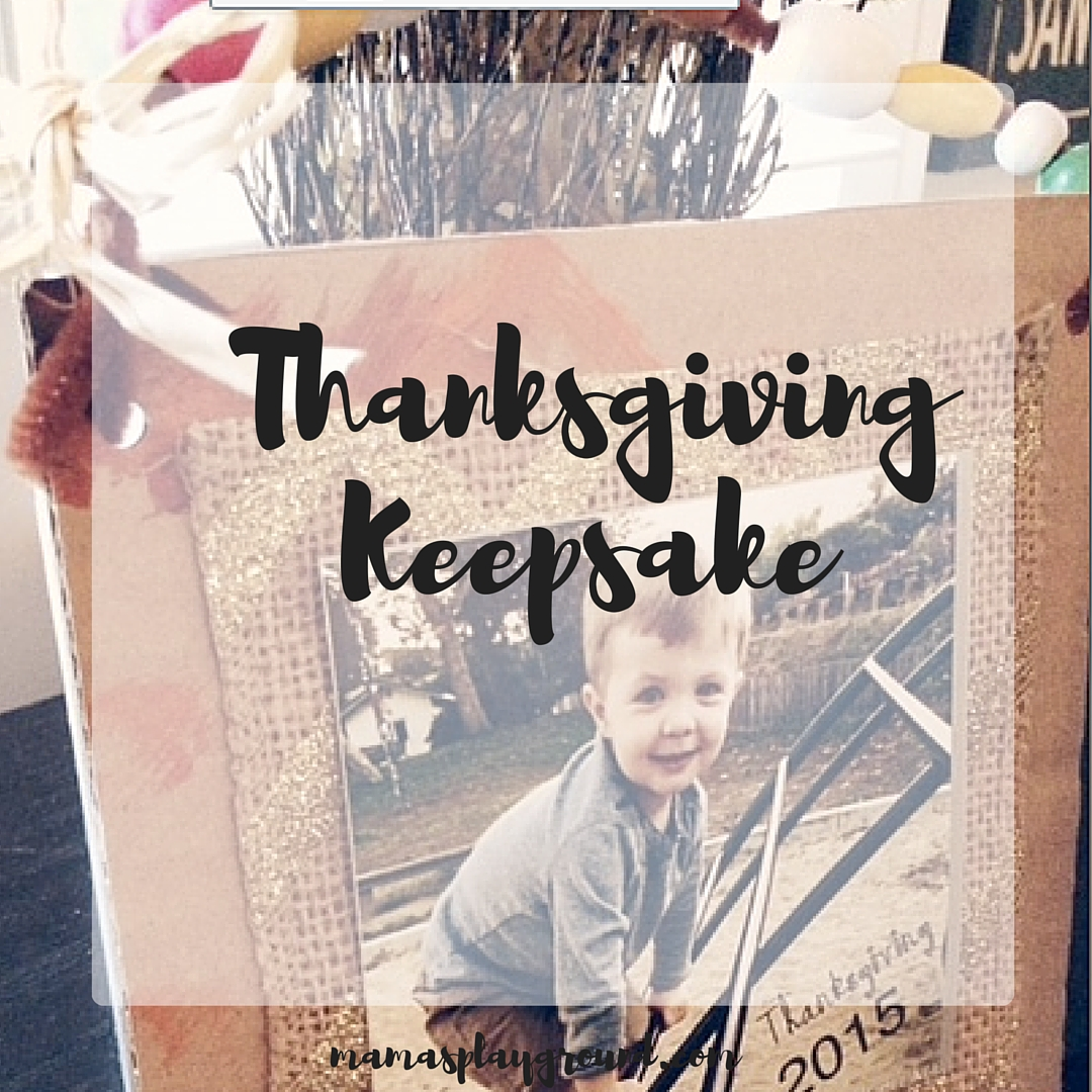 Thanksgving Keepsake
