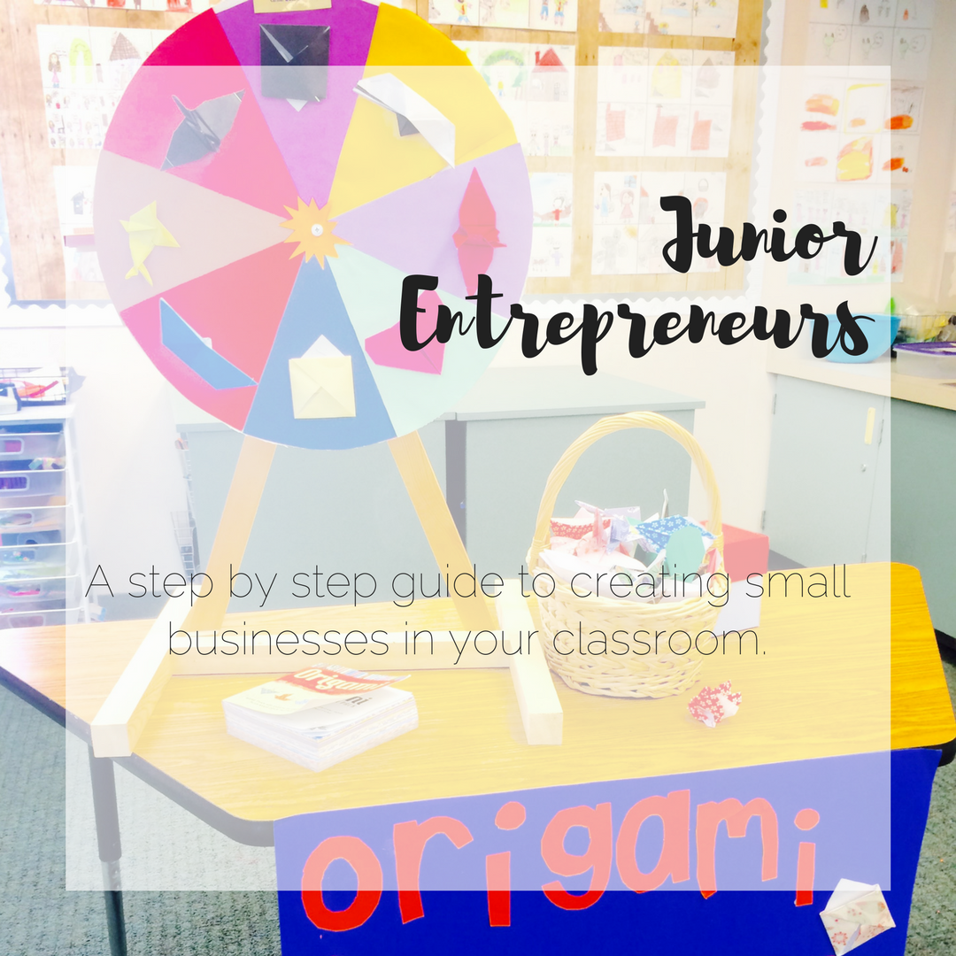 A project to transform your students into young entrepreneurs.